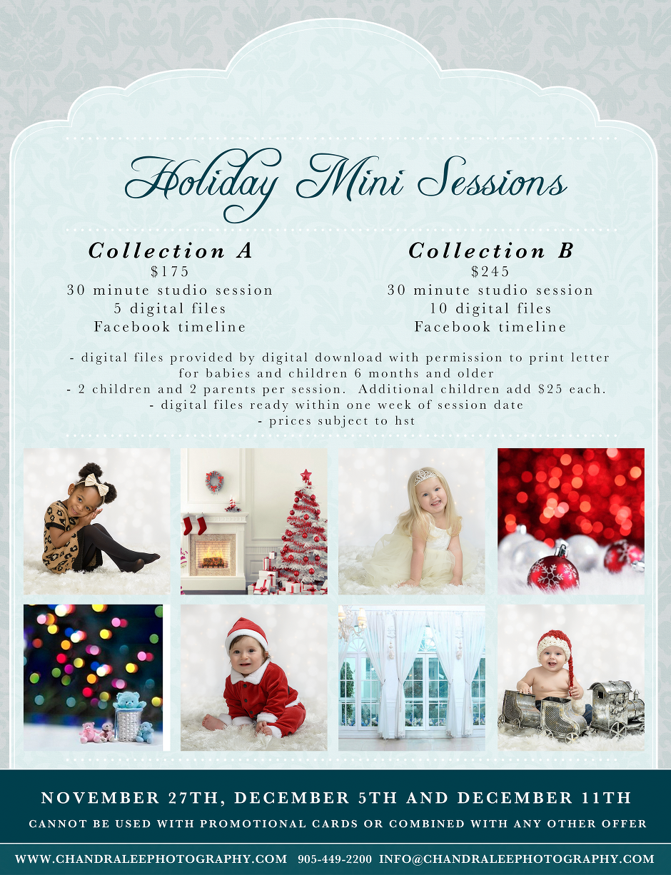 Holiday Mini Sessions with Chandra Lee Photography 2016