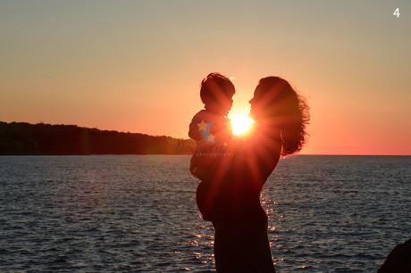 Sunrise Maternity Picture