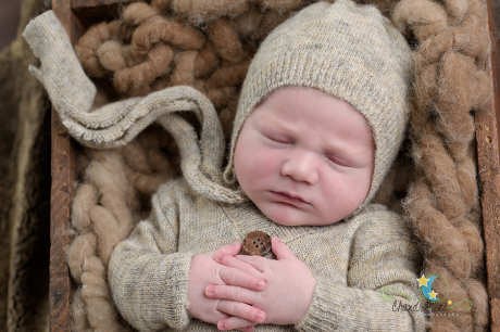 Newborn Picture Baby Dylan
