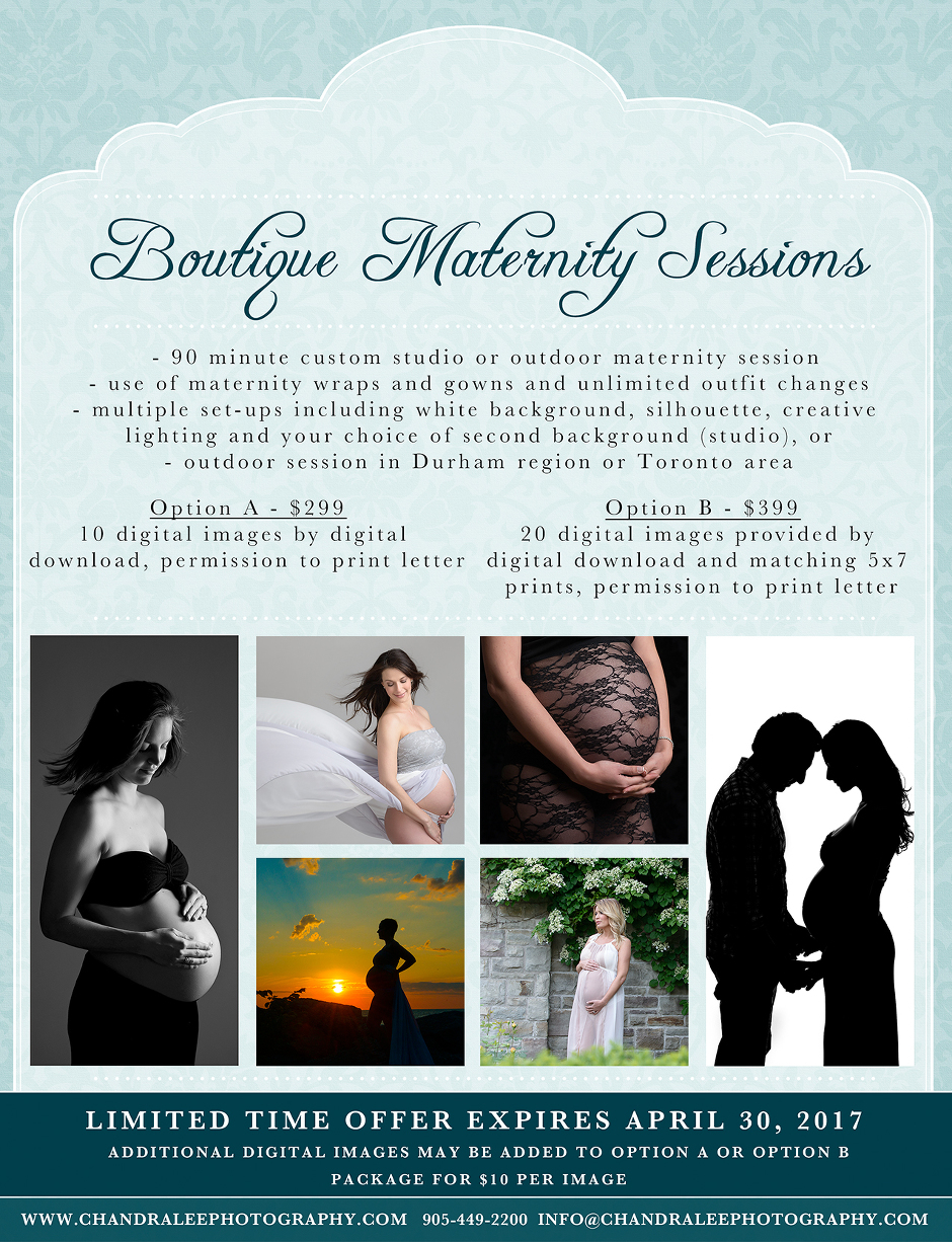 Boutique Maternity Sessions with Chandra Lee Photography